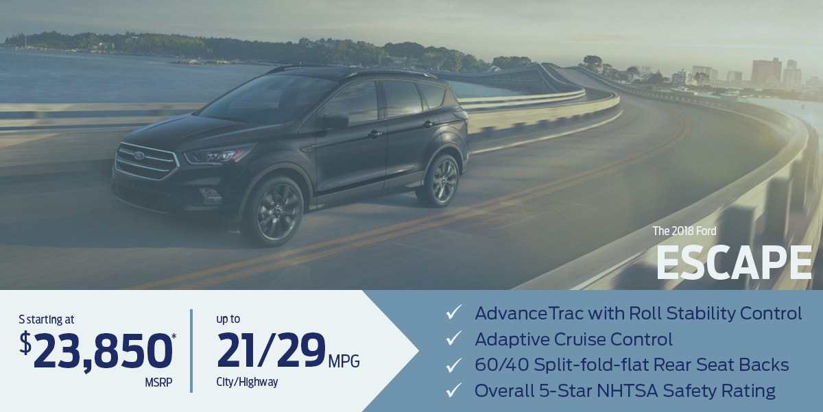 Learn more about the all-new Ford Escape