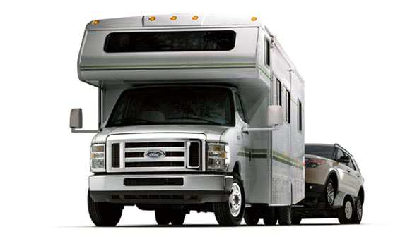 Ford E-Series Cutaway Camping & Tow