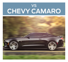 Click to compare the 2017 Ford Mustang to the 2017 Chevrolet Camaro
