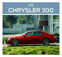 Click to compare the 2018 Ford Taurus to the 2017 Chrysler 300