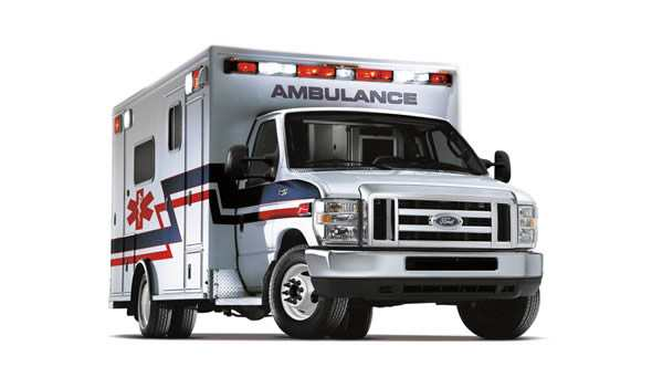 Ford E-Series Cutaway Ambulance