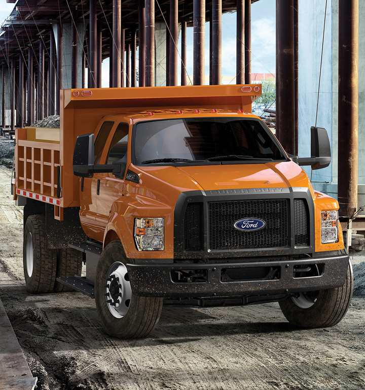 Ford F-Series, Orange