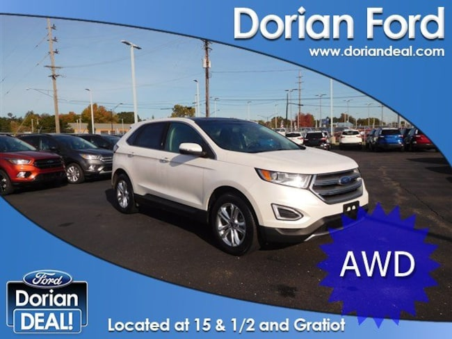 2015 Ford Edge Titanium Sport Utility For Sale in Clinton Township, MI