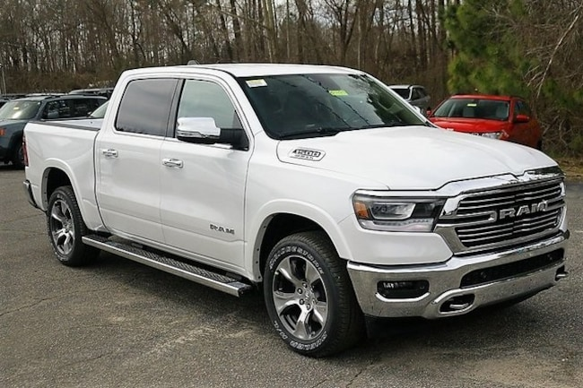New 2019 Ram 1500 LARAMIE CREW CAB 4X4 5'7 BOX Crew Cab Rock Mount