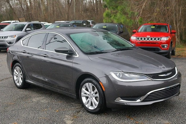 Used 2015 Chrysler 200 Limited Sedan Rocky Mount