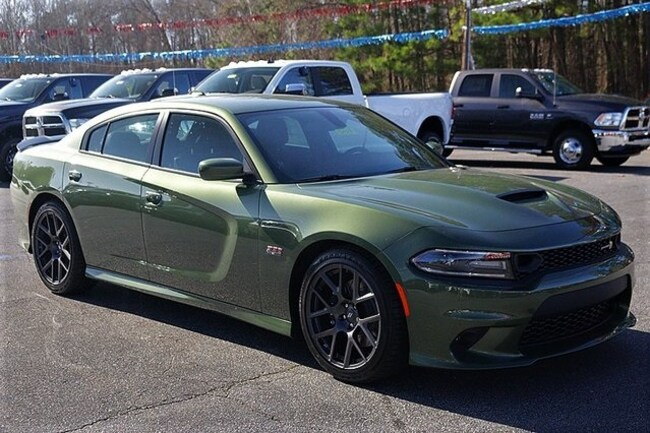 New 2019 Dodge Charger SCAT PACK RWD Sedan Rock Mount