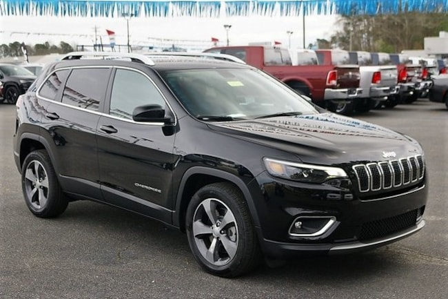 New 2019 Jeep Cherokee LIMITED FWD Sport Utility Rock Mount