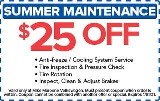 Summer Maintenance (VW)