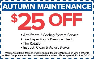 Autumn Maintenance (VW)