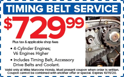 Timing Belt Service (Honda)