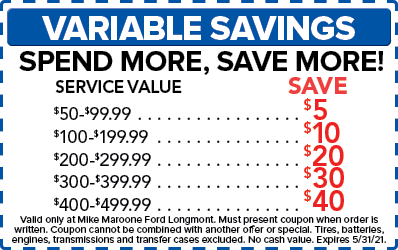 Variable Savings (Ford)