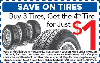 Save On Tires (Honda)