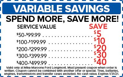 Variable Savings (Ford)
