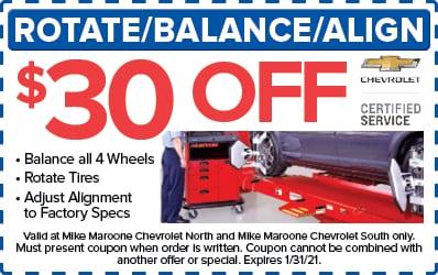Rotate/Balance/Align (Chevrolet)