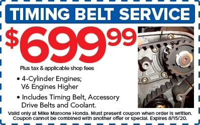Timing Belt Service (Honda)