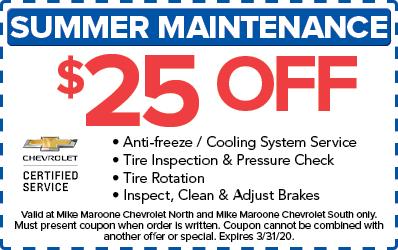 Summer Maintenance (Chevrolet)