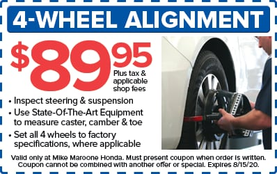 4-wheel alignment (Honda)