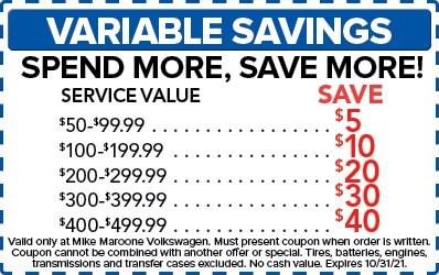 Variable Savings (VW)
