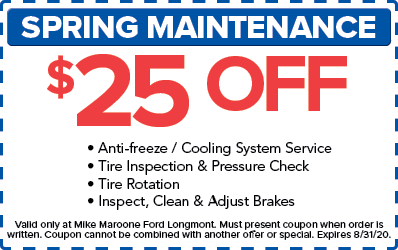 Spring Maintenance (Ford)