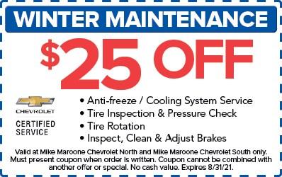 Winter Maintenance (Chevrolet)