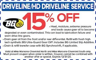 Driveline/HD Driveline Service