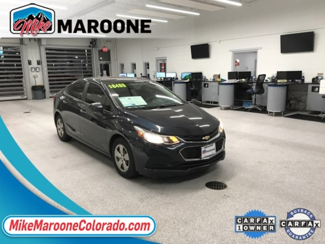 2016 Chevrolet Cruze LS Manual Sedan