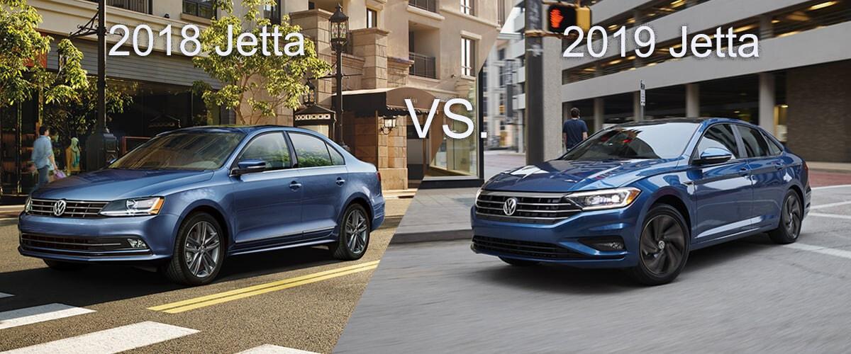 2018 VW Jetta Vs 2019 VW Jetta In Colorado Springs, CO