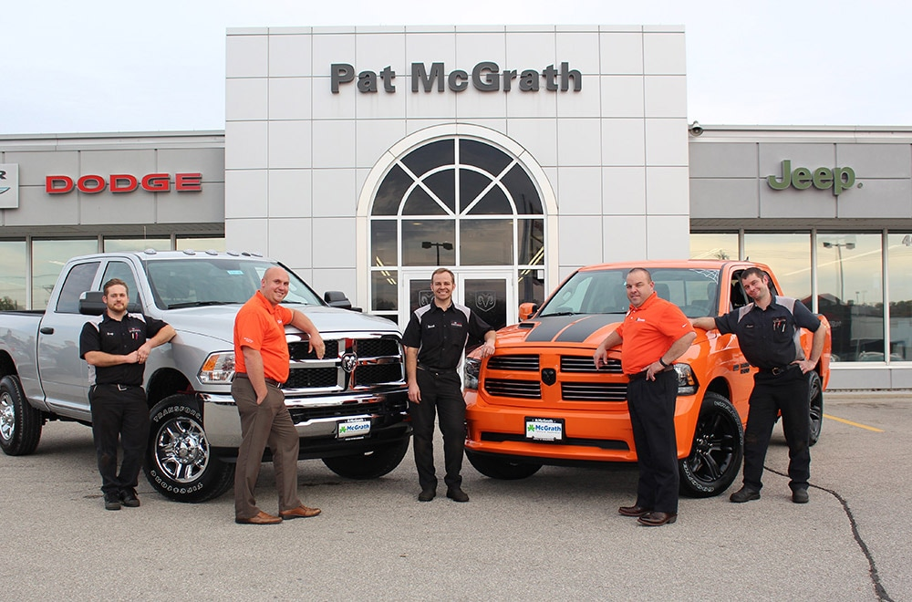 Pat McGrath Dodge Staff