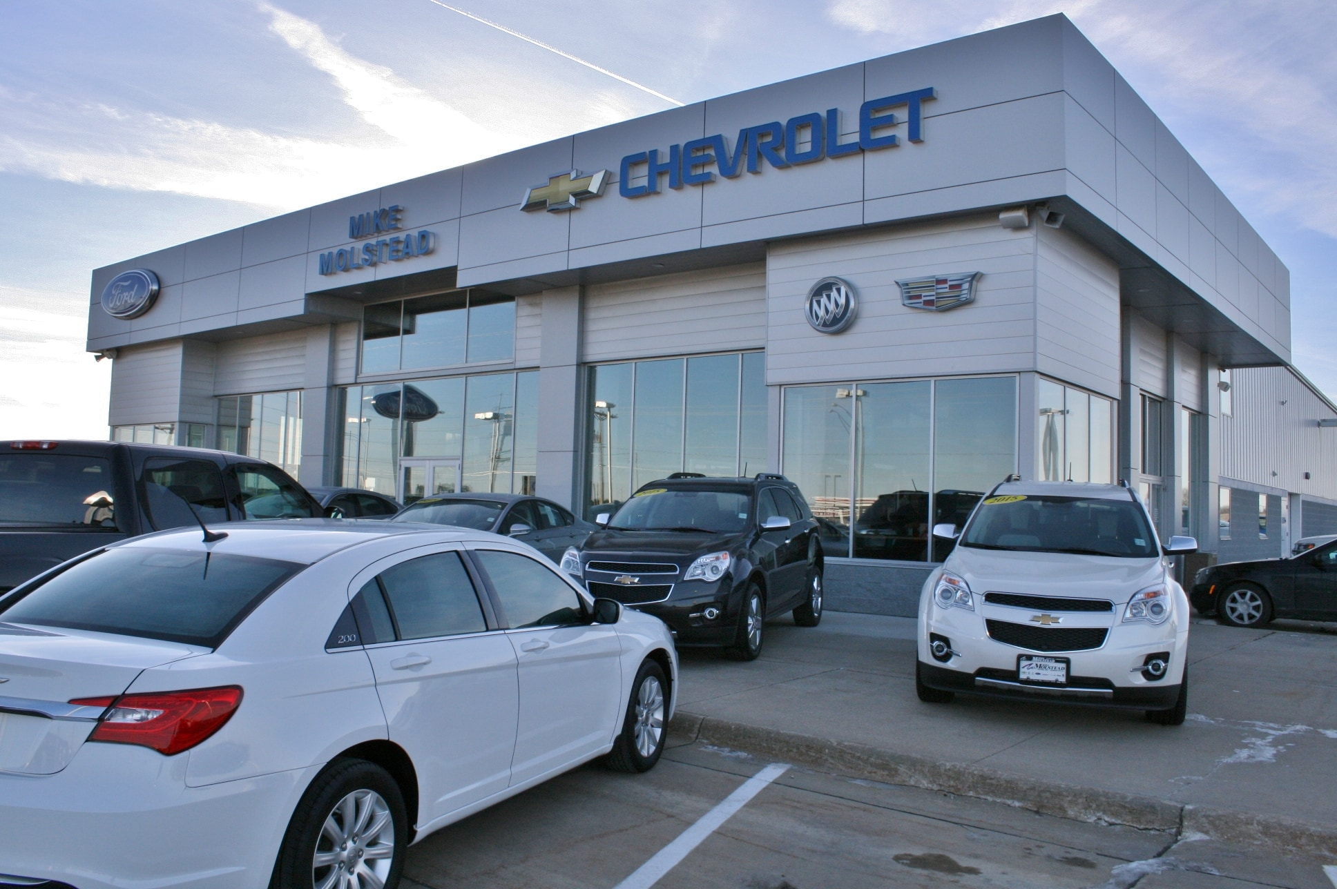 Chevy Ford Dealer Mason City Mike Molstead Motors