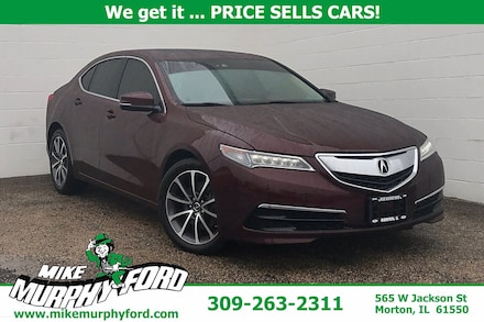2015 Acura TLX 4dr Sdn FWD V6 Tech Sedan