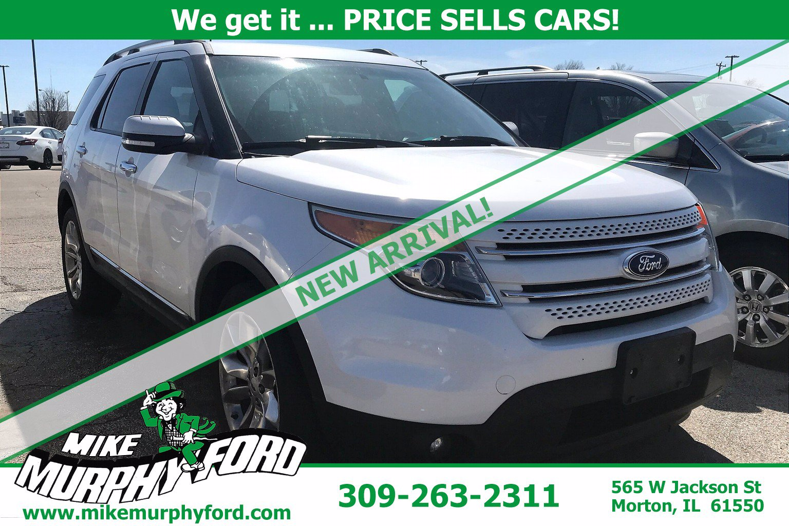 Used Ford Explorer Morton Il