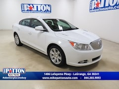 2012 Buick LaCrosse Leather Group Sedan