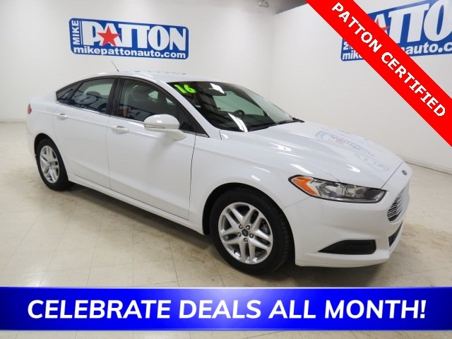Mike Patton Ford >> Used 2016 Ford Fusion For Sale At Mike Patton Lincoln Vin