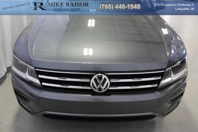 Used 2018 Volkswagen Tiguan For Sale at Mike Raisor Ford | VIN