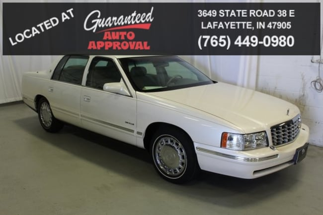 used 1998 CADILLAC DEVILLE Base Sedan For Sale Lafayette, IN