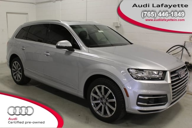 Certified Pre-Owned 2018 Audi Q7 3.0T Premium SUV For Sale Lafayette IN