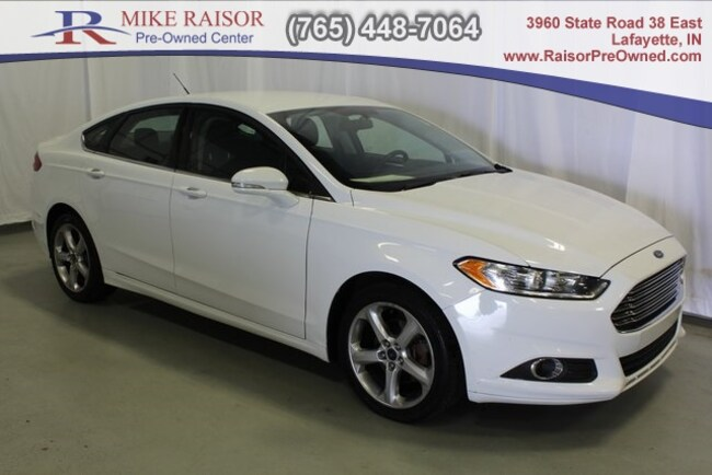 used 2016 Ford Fusion SE Sedan For Sale Lafayette, IN