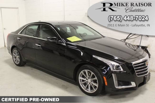 Certified Pre-Owned 2019 CADILLAC CTS 3.6L Luxury Sedan For Sale Lafayette IN