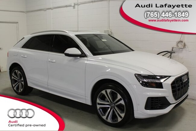 Certified Pre-Owned 2019 Audi Q8 3.0T Premium SUV For Sale Lafayette IN