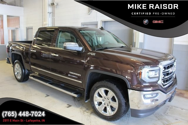 Used 2016 GMC Sierra 1500 SLT Truck Crew Cab for sale in Lafayette, IN