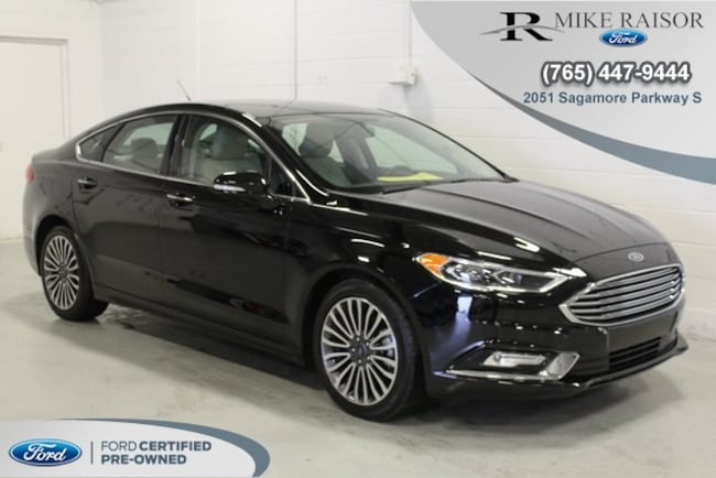 Certified Pre-Owned 2018 Ford Fusion Sedan For Sale Lafayette IN