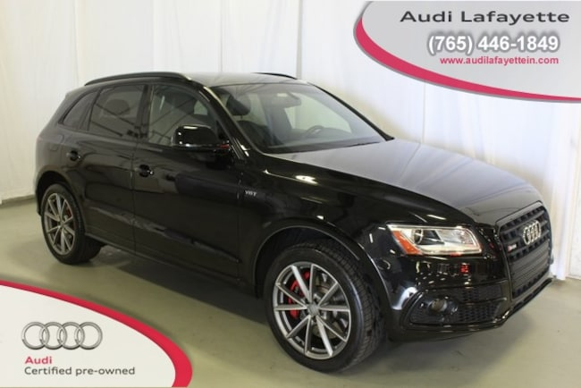 Certified Pre-Owned 2016 Audi SQ5 3.0T Premium Plus SUV For Sale Lafayette IN