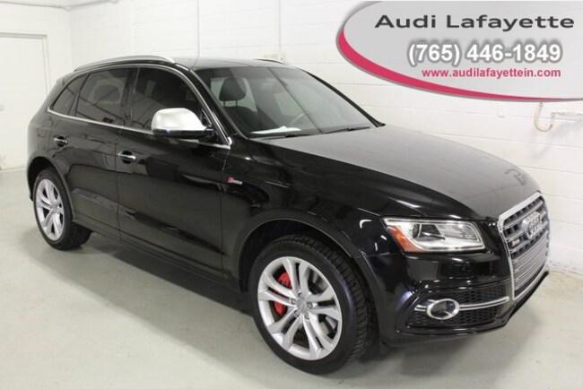 used 2016 Audi SQ5 3.0T Premium Plus SUV For Sale Lafayette, IN