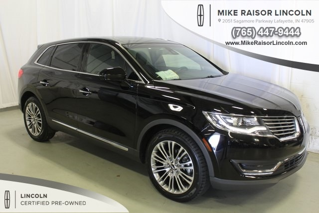 Used 2016 Lincoln MKX Reserve SUV for sale in Lafayette, IN