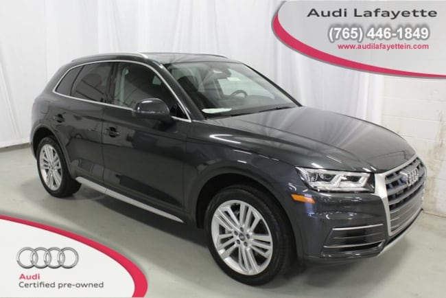 Certified Pre-Owned 2018 Audi Q5 2.0T SUV For Sale Lafayette IN