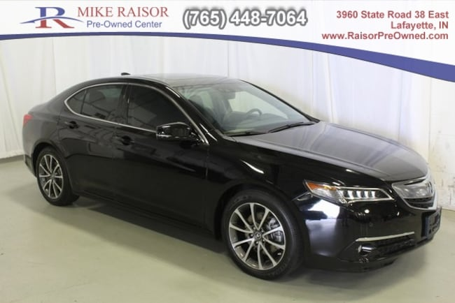 used 2016 Acura TLX TLX 3.5 V-6 9-AT SH-AWD with Advance Package Sedan For Sale Lafayette, IN