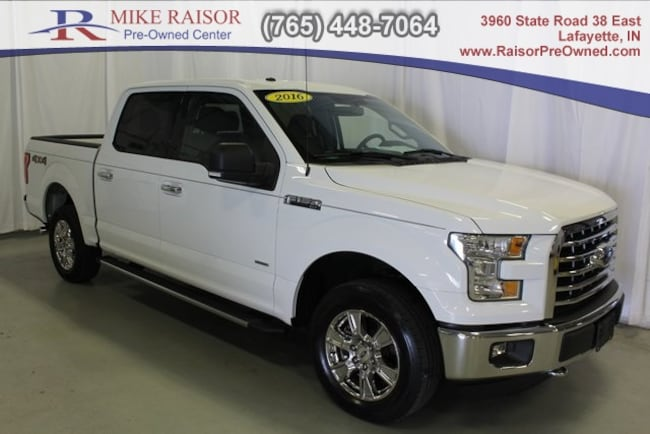 used 2016 Ford F-150 Truck SuperCrew Cab For Sale Lafayette, IN