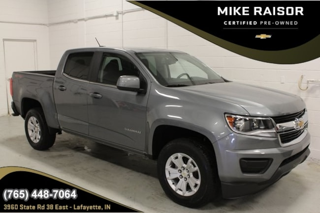 Certified Pre-Owned 2018 Chevrolet Colorado LT Truck Crew Cab For Sale Lafayette IN