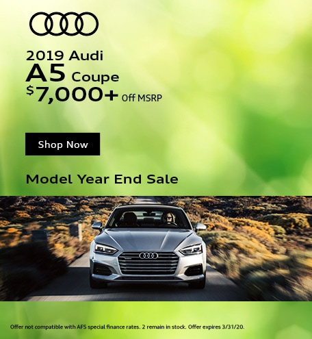 March 2019 Audi A5 Coupe
