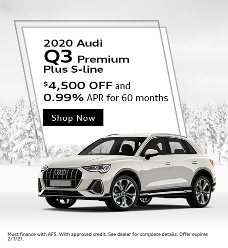2020 Audi Q3 Premium Plus S-line - January Offer